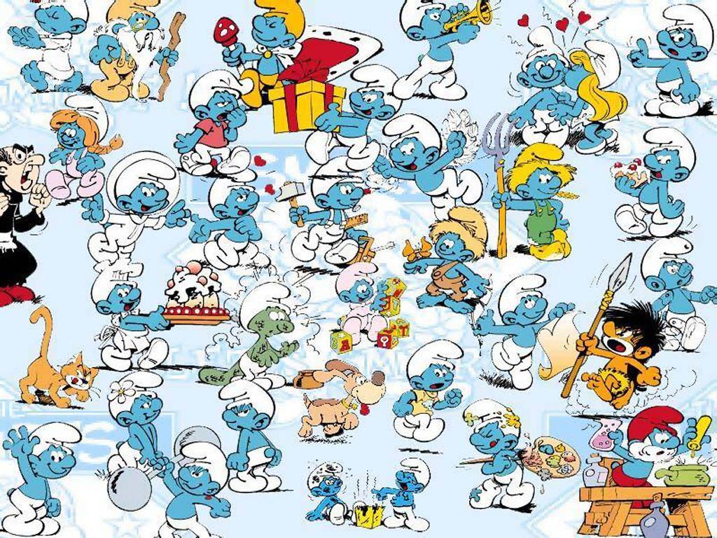 Smurfs Cartoon Characters 80 S : Especial smurfs conheça o desenho salada de cinema