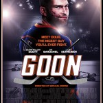 Sean William Scott está destruído no pôster de Goon