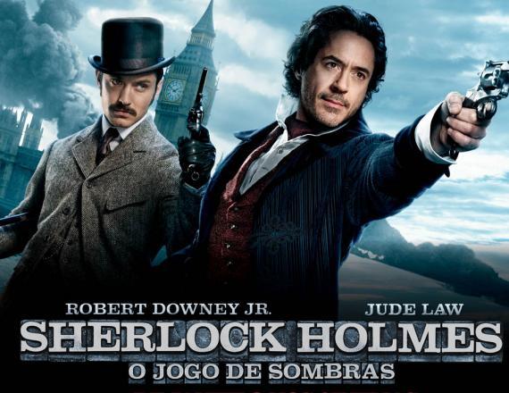 Resultado de imagem para Sherlock Holmes: O Jogo De Sombras,