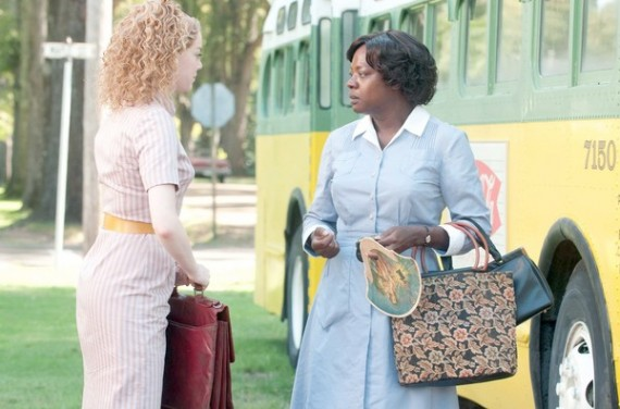 Emma Stone and Viola Davis The Help