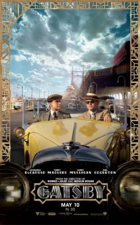 Novo trailer de O Grande Gatsby (e pôsteres!)
