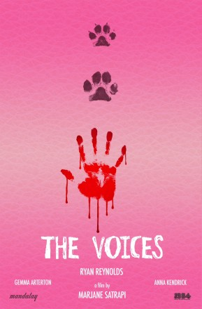 Confira pôster de The Voices, novo filme com Ryan Reynolds