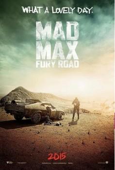 Vem ver o primeiro pôster de Mad Max: Fury Road