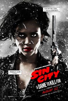 Três lindos pôsteres de Sin City: A Dama Fatal