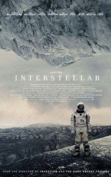 Interstellar, de Christopher Nolan, ganha novo pôster