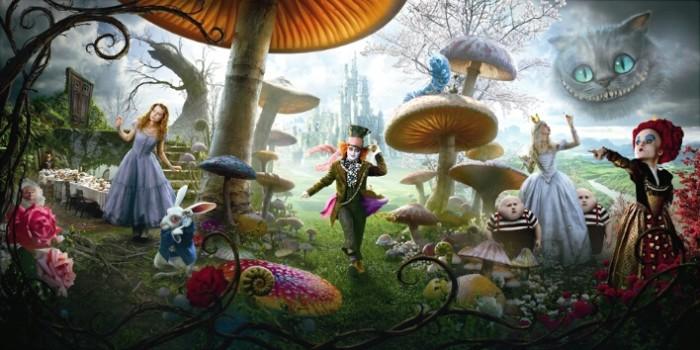 Começam as filmagens de Alice no País das Maravilhas 2