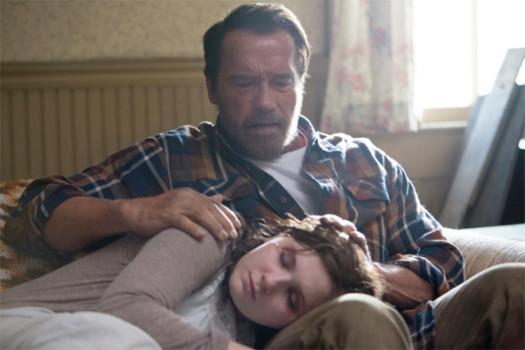 Sim! Abigail Breslin e Schwarzenegger juntos em Maggie