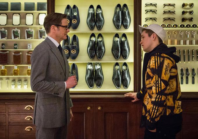 Colin Firth estrela o trailer de Kingsman – Serviço Secreto   Salada ... 9cde34b76c