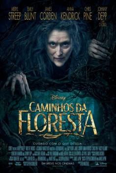 Disney divulga Meryl Streep no cartaz de Caminhos da Floresta