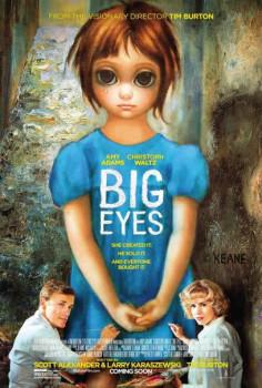 Big Eyes, de Tim Burton, ganha seu primeiro pôster