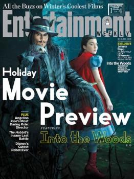 Johnny Depp como Lobo Mau em imagens de Caminhos da Floresta