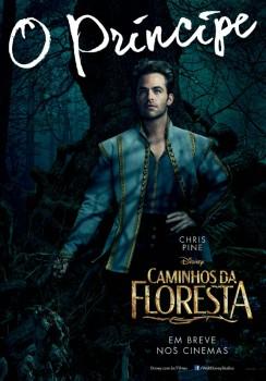 O musical de Johnny Depp, Caminhos da Floresta, ganhou novos cartazes incríveis