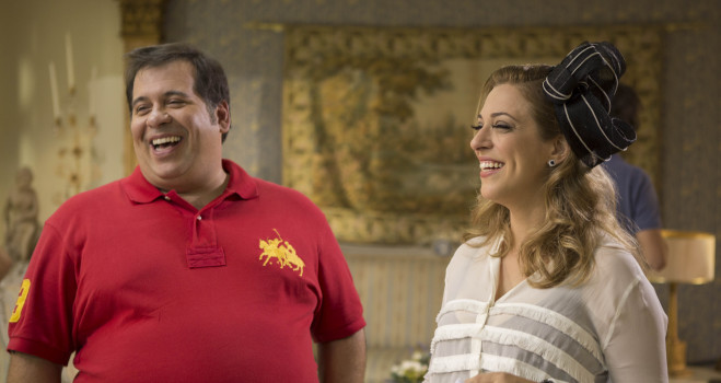 cine brasil: Vestido Pra Casar e Leandro Hassum