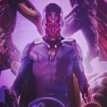 Confira a nova foto do Visão em Os Vingadores 2