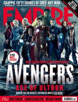 Veja as capas da Empire com Os Vingadores 2: A Era de Ultron