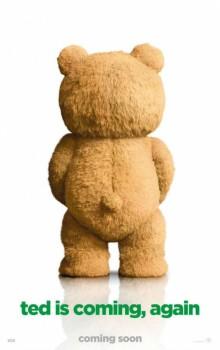 Ursinho Ted no pôster do novo filme