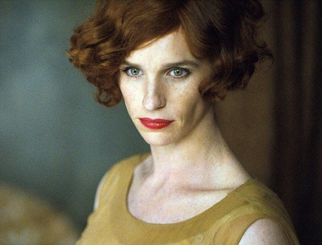 Eddie Redmayne aparece como a Transexual de The Danish Girl