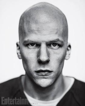 Assim será Jesse Eisenberg como Luthor em Batman vs Superman