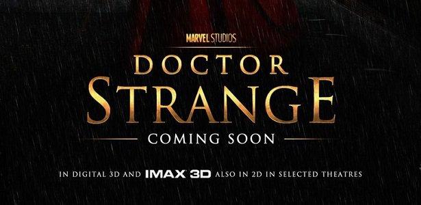 Começa a produção de Doutor Estranho