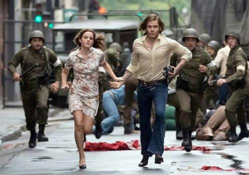 Emma Watson e Daniel Brühl em imagens de Colonia