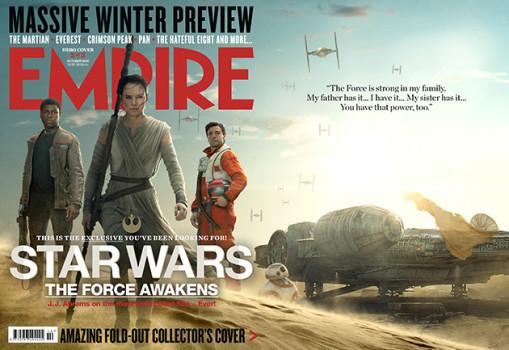 Mocinhos e vilões nas capas da Empire para Star Wars