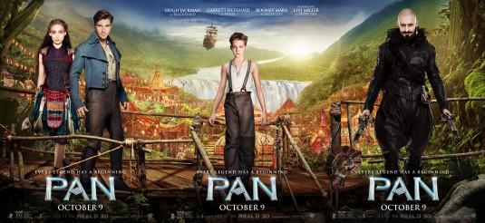 Novos cartazes individuais de Pan