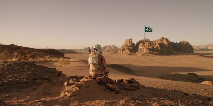 cine remix: Perdido em Marte, vindo do Brasil