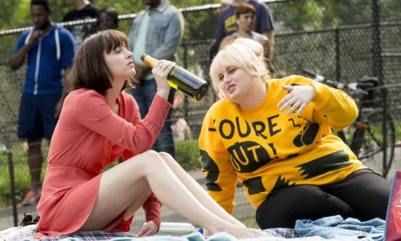 On Location with How to be Single  Featuring: Dakota Johnson, Rebel Wilson Where: New York, New York, United States When: 29 May 2015 Credit: WENN.com