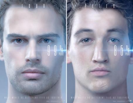 Veja os novos pôsteres de A Série Divergente: Convergente!