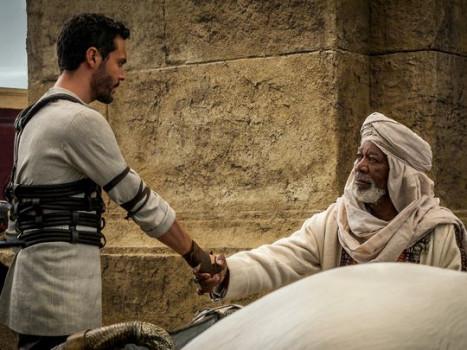 Muitas cenas inéditas no remake de Ben-Hur