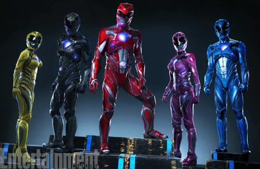 Uau! Confira a nova imagem dos Power Rangers!