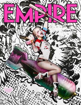 Margot Robbie está com tudo nas novas imagens de Esquadrão Suicida