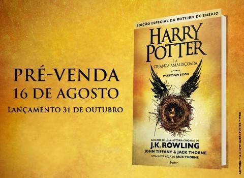 Harry Potter e a Criança Amaldiçoada ganha data de lançamento