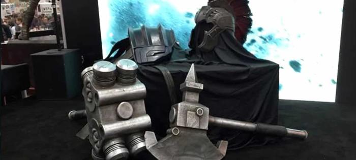 Vídeo mostra a armadura do Hulk em Thor: Ragnarok