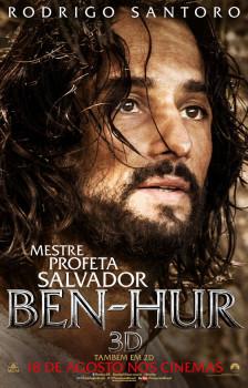 Ben-Hur ganha cartaz com Rodrigo Santoro