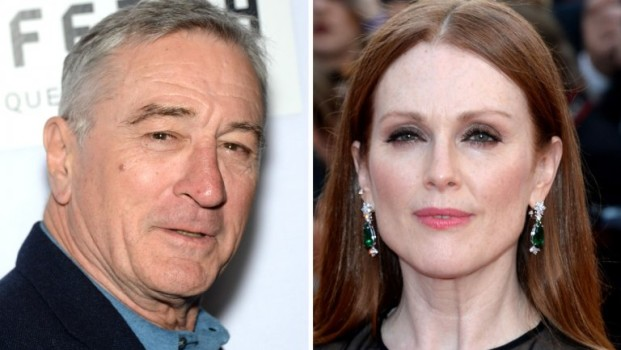 Julianne Moore e Robert De Niro devem estrelar série de TV