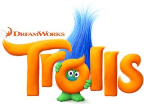 Veja os cartazes coloridos de Trolls