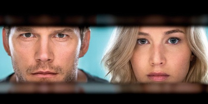 Divulgado o primeiro trailer de Passageiros, com Chris Pratt e Jennifer Lawrence