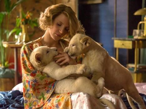 Jessica Chastain estrela primeiro trailer de The Zookeeper's Wife