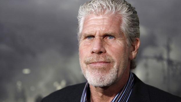 "Cast member Ron Perlman arrives at the premiere of ""Conan the Barbarian"" in Los Angeles, Thursday, Aug. 11, 2011.  ""Conan the Barbarian"" opens in theaters Aug. 19, 2011.  (AP Photo/Matt Sayles)"