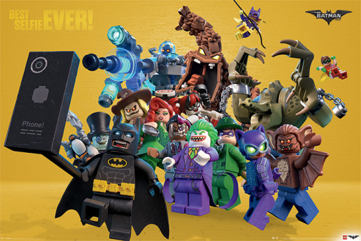 The Lego Batman Movie ganha vários divertidos cartazes