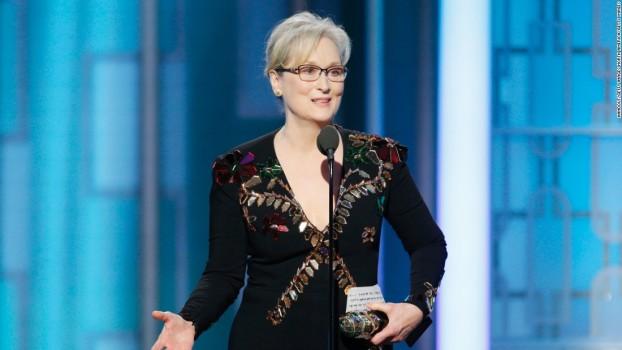 Meryl Streep emociona o mundo com seu discurso no Globo de Ouro
