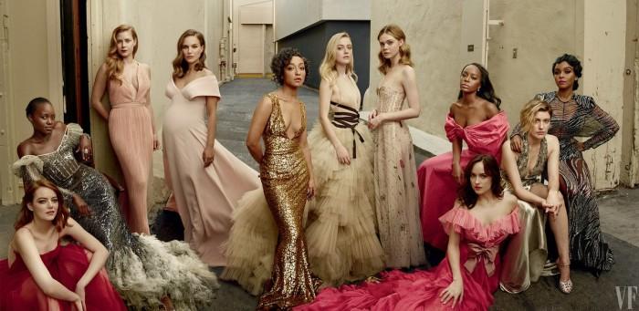 Vanity Fair divulga sua tradicional capa de estrelas de Hollywood