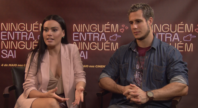Letícia Lima e Emiliano D'Avila