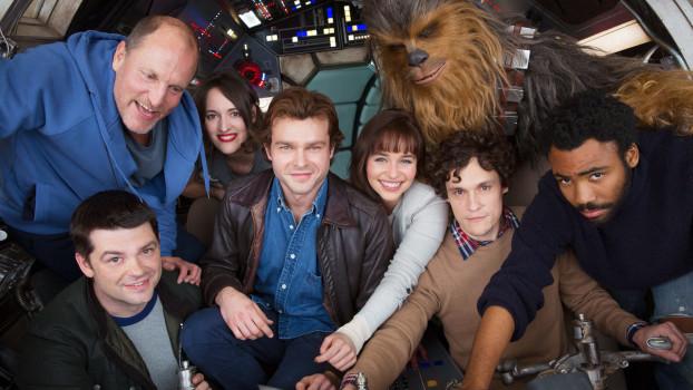 Novo Han Solo aparece em imagens dos bastidores