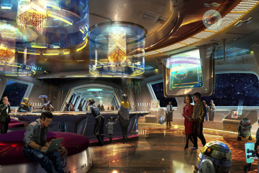 Disney anuncia Hotel de Star Wars
