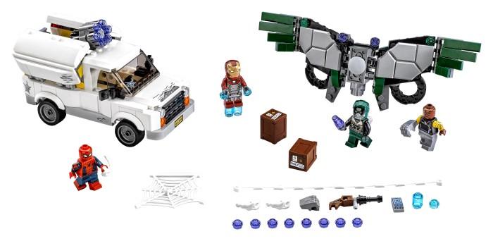 LEGO lança linha de ação de Homem-Aranha: De Volta ao Lar