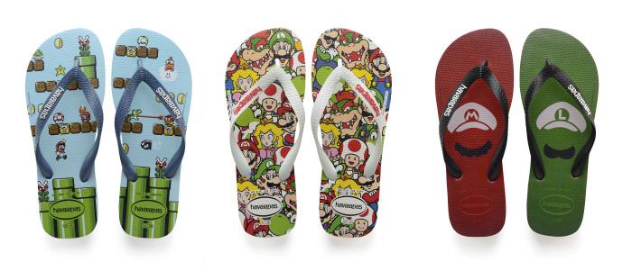 It's me, Mario! Veja a coleção das Havaianas de Mario Bros