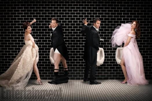 Elenco de Will & Grace se reúne em ensaio fotográfico