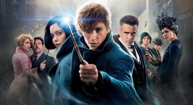 J.K. Rowling divulga foto do set de Animais Fantásticos
